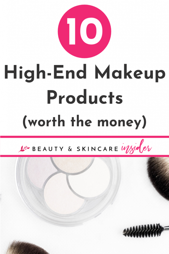 high-end makeup worth the money